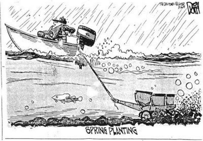 Duffy Spring Planting Cartoon